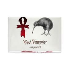 Cute Psychic vampire Rectangle Magnet