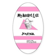 Ladies Bucket List Journal Cover Decal