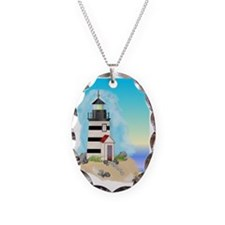 Lighthouse Journal Cover Necklace