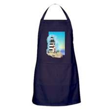 Lighthouse Journal Cover Apron (dark)