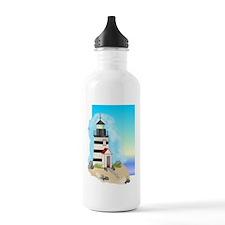 Lighthouse Journal Cov Water Bottle