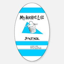 Mens Bucket List Journal Cover Decal