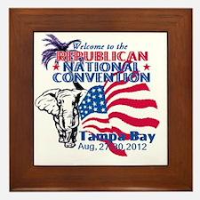 Republican Convention Framed Tile