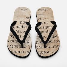 dec_alexis_de_tocqueville_quote Flip Flops