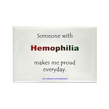 Hemophilia Pride Rectangle Magnet