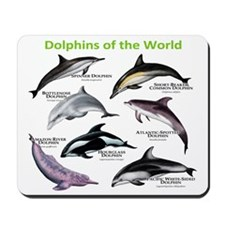 Dolphins of the World Mousepad