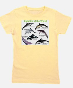 Dolphins of the World Girl's Tee