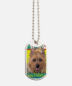 BirthdayCupcakeAustralianTerrier Dog Tags