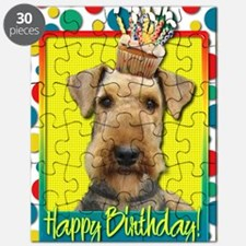 BirthdayCupcakeAiredale Puzzle