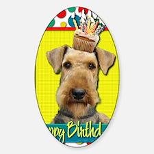 BirthdayCupcakeAiredale Decal