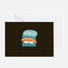oishiilaptopskin Greeting Card