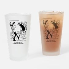 5962_plumbing_cartoon Drinking Glass