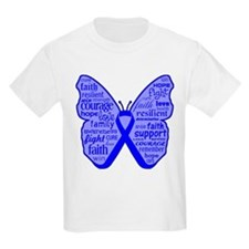 Histiocytosis Awareness Butterfly T-Shirt