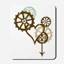 steampunk love Mousepad