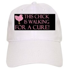 breast cancer this chickdbutton Hat
