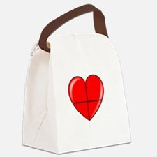 heart-curve-2-whiteLetters copy Canvas Lunch Bag