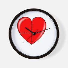 heart-curve-2-whiteLetters copy Wall Clock