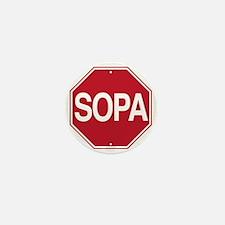 Stop S.O.P.A Mini Button