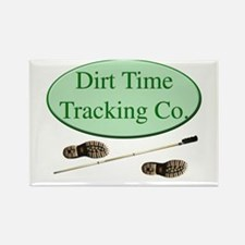 Dirt Time Tracking Company Rectangle Magnet