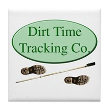 Dirt Time Tracking Company Tile Coaster