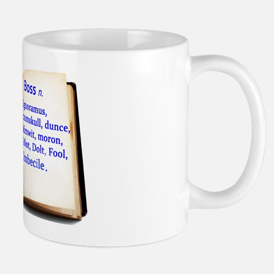 work thesaurus. trans. Mug