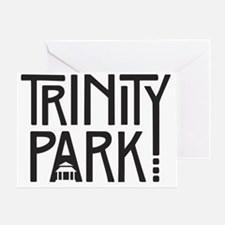 TPNA Square Word Art Logo Greeting Card