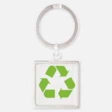 Recycle TRANS Square Keychain