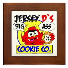 jerseydcookie4 Framed Tile