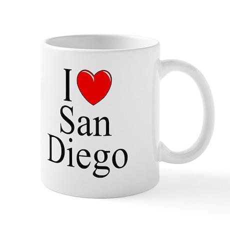 """""""I Love San Diego"""" Mug"""