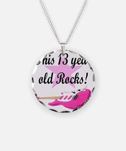 personalized rock star Necklace