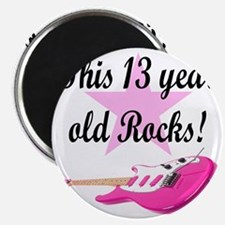 personalized rock star Magnet