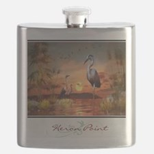 Heron Point Flask