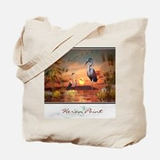 Heron Point Tote Bag