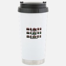 Back to the future Stainless Steel Travel Mug