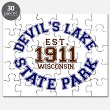 Devils Lake State Park Wisconsin Puzzle