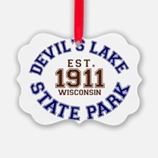 Devils Lake State Park Wisconsin Ornament