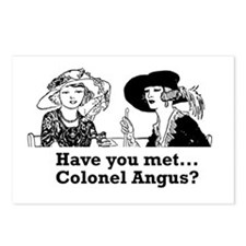 colonelangus Postcards (Package of 8)