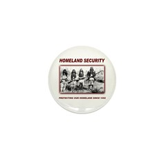 Homeland Security Native Pers Mini Button (10 pack