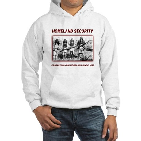 Homeland Security Native Pers Hooded Sweatshirt