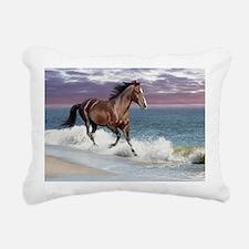 Dreamer_on_beach Rectangular Canvas Pillow