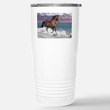 Dreamer_on_beach Stainless Steel Travel Mug