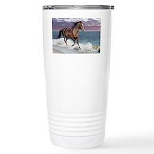 Dreamer_on_beach Travel Mug