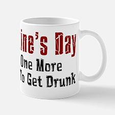 Valentines Day Get Drunk Mug