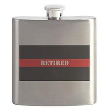 Retired Firefighter Flask