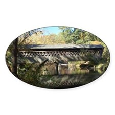 Pooles Mill Covered Bridge Decal
