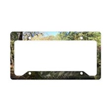 Pooles Mill Covered Bridge License Plate Holder