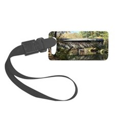 Pooles Mill Covered Bridge Luggage Tag