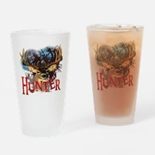 Hunter take your best shot Deer Whi Drinking Glass