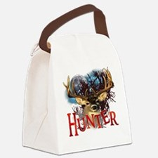 Hunter take your best shot Deer W Canvas Lunch Bag