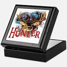 Hunter take your best shot Deer White Keepsake Box